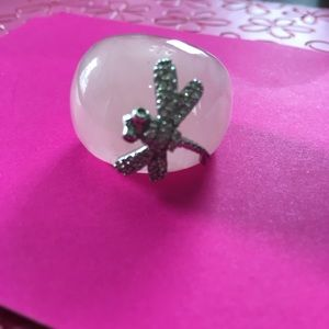 Jewelry - Gorgeous Acetate Dragonfly Ring